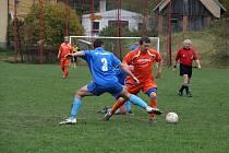 Ladislav Zakopal nastoupil dvakrát za rezervu Martinic a stihl vstřelit čtyři góly.