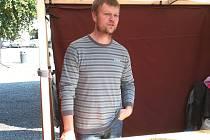 Pavel Buřinský, okradený včelař z Roštína.