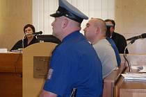 Václav Kamenec u okresního soudu
