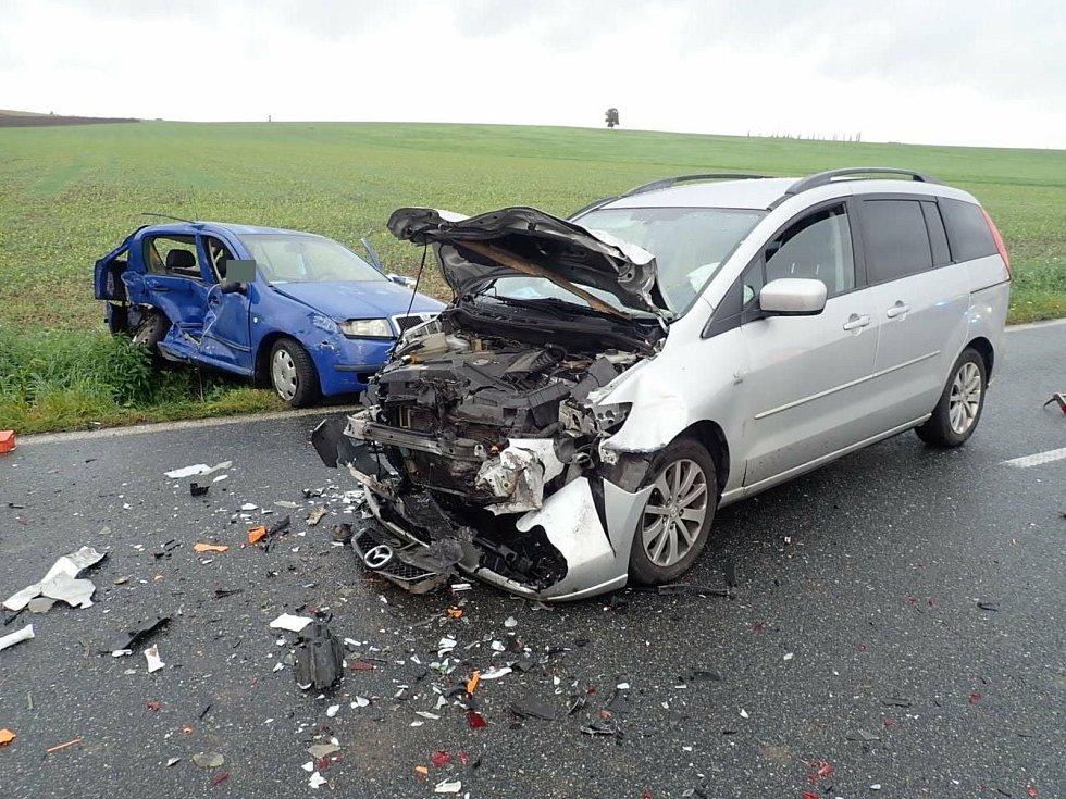Tragická nehoda na Kroměřížsku, sobota, 26.září 2020