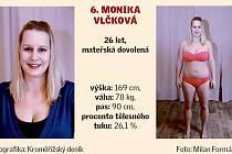Kroměřížsko hubne. Soutěžící 6. Monika Vlčková