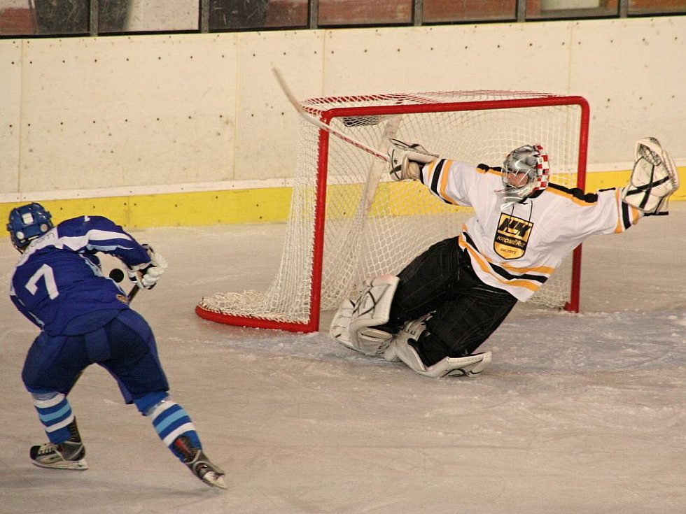 Hokej KHL Kroměříž. Ilustrační foto