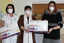 Nové monitory dechu pro Novorozenecké oddělení Kroměřížské nemocnice.