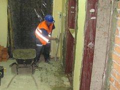 V Holešově i na jiných místech kroměřížského regionu v těchto dnech probíhají stavební úpravy policejních služeben, například vstupních recepcí.