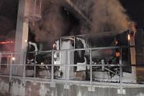 Napájení mýtné brány u Kroměříže zasáhl požár, škoda tři miliony