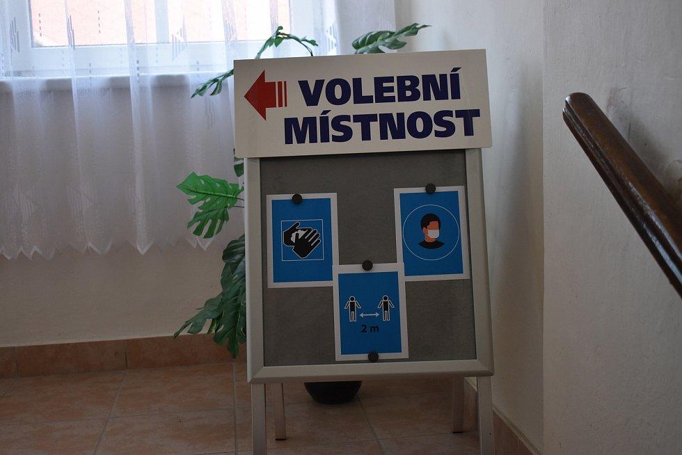 Krajské volby 2020 v Třeběticích.