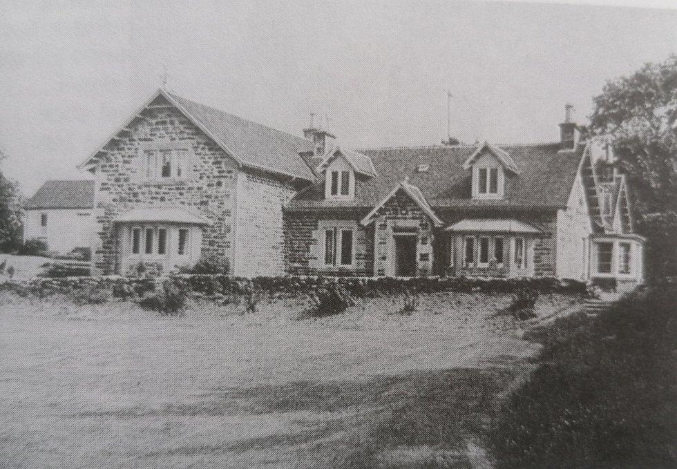 Výcvikové středisko čs. parašutistů - farma Garramore v severním Skotsku.