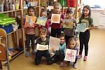 První den jarních prázdnin strávily některé děti na Kreativním dni s Martinou, který uspořádalo všetulské TyMy centrum.