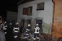 Dva víkendové požáry v obcích na Kroměřížsku