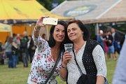 Festival Holešovská regata  2018 v zámeckém parku v Holešově.