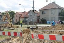 Kvůli opravě kanalizační šachty na křižovatce Kotojedská – Obvodová bude do 31. července Obvodová ulice uzavřena.