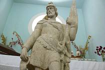 V Bojanovicích vrátí po mnoha letech na své původní místo sochu svatého Floriána.