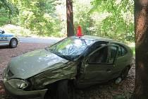 Svědky dopravní nehody, která se stala v pondělí 8. června ráno či dopoledne mezi Vrbkou a Kostelany, hledají kroměřížští dopravní policisté: havaroval tam zatím neznámý řidič osobního auta Renault Megane stříbrno-zlaté barvy.