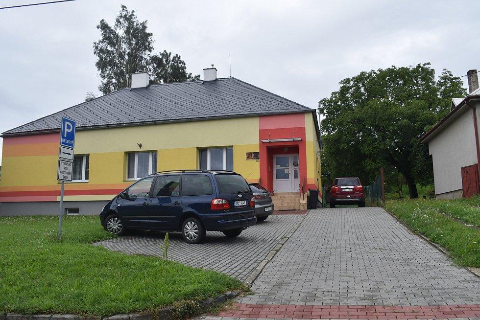 Kostelec u Holešova, srpen 2021. Mateřská škola.