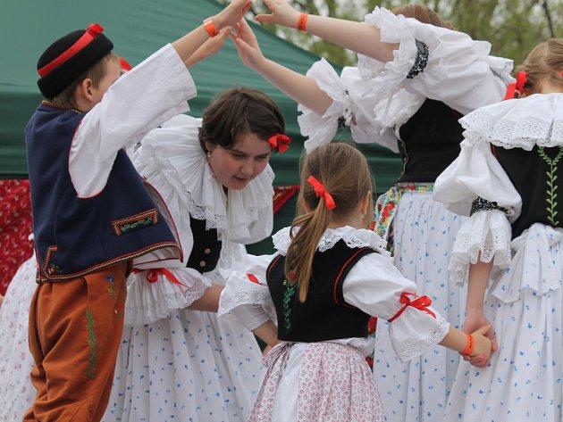 Hanácký den v Kroměříži. Ilustrační foto