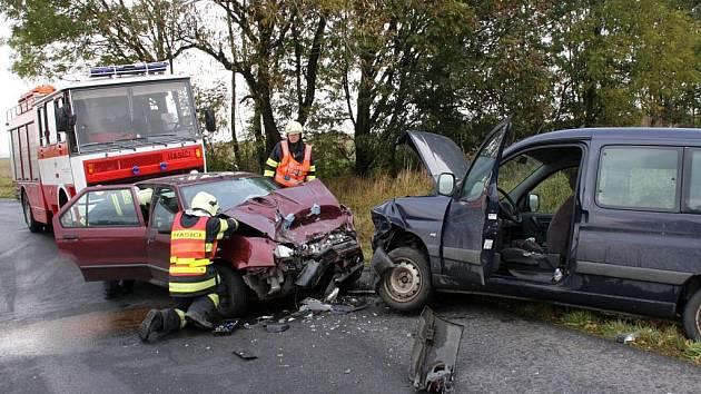 Dopravní nehoda u Přílep
