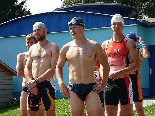 Již tradiční sprint triatlon se v sobotu konal v Holešově.