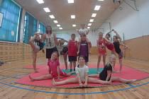 Příměstský gymnastický tábor v Holešově organizovalo SVČ TYMY.