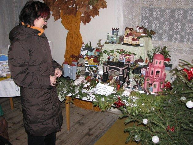 Výstava betlémů v Pačlavicích.
