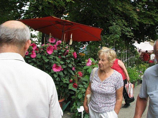 Ve Věžkách u Kroměříže probíhá již tradiční výstav Floria