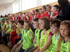 Už po šesté se konala akce s názvem Holešovské děti v pohybu.