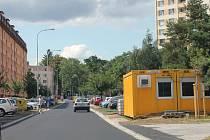 Spáčilova ulice v Kroměříži je průjezdná.