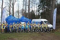 Bystřičtí cyklisté vstoupili do prvních letočních závodů s novým vybavením.