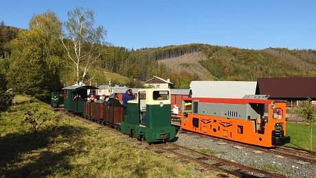 Rajnochovickou lesní železnici provozuje parta nadšenců od roku 2011.