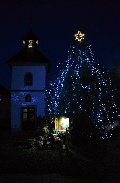 Vánoční strom 2020 ve Všetulích