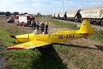 Letounu krátce po startu vysadil motor, pilot musel nouzově přistát