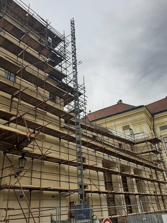 Arcibiskupský zámek v Kroměříži, 15. května 2021