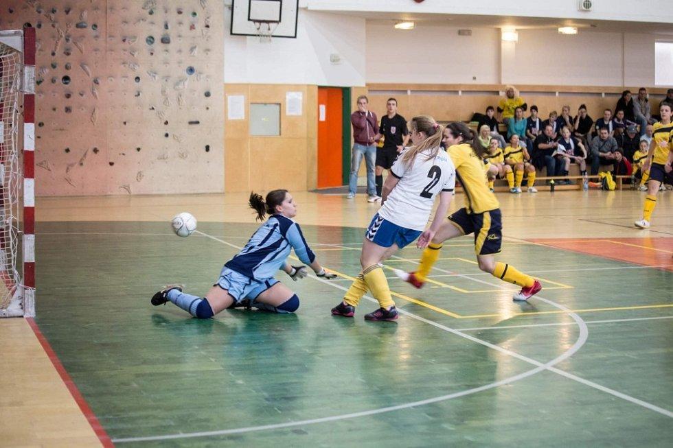 Mikulášského fotbalového turnaje žen v Holešově