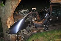 Dopravní nehoda u Martinic na Kroměřížsku.