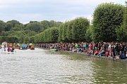 Festival Holešovská regata 2018: Přehlídka netradičních plavidel