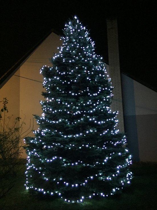 Vánoční strom 2020 v Žeranovicích