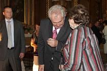 Prezident Miloš Zeman navštívil při své cestě po Zlínském kraji i poutní místo Svatý Hostýn.