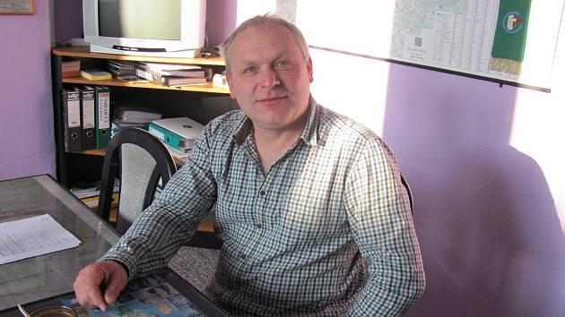 Na snímku skaštický starosta Richard Novák.