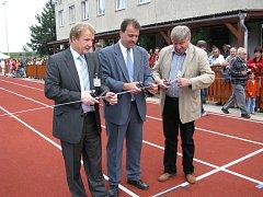 V Hulíně byl 15. 6. 2008 slavnostně otevřen nově zrekonstruovaný atletický stadion.