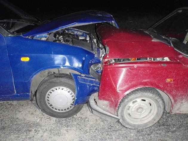 Dopravní nehoda u Nitkovic na Kroměřížsku.