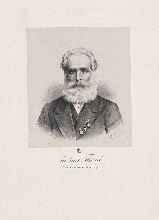 Zakladatel závodu TON Michael Thonet.