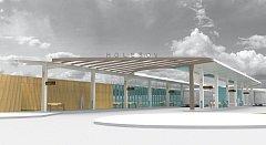 Výstavba nového dopravního terminálu v Holešově bude s největší pravděpodobností zahájena už v pondělí 19. března.
