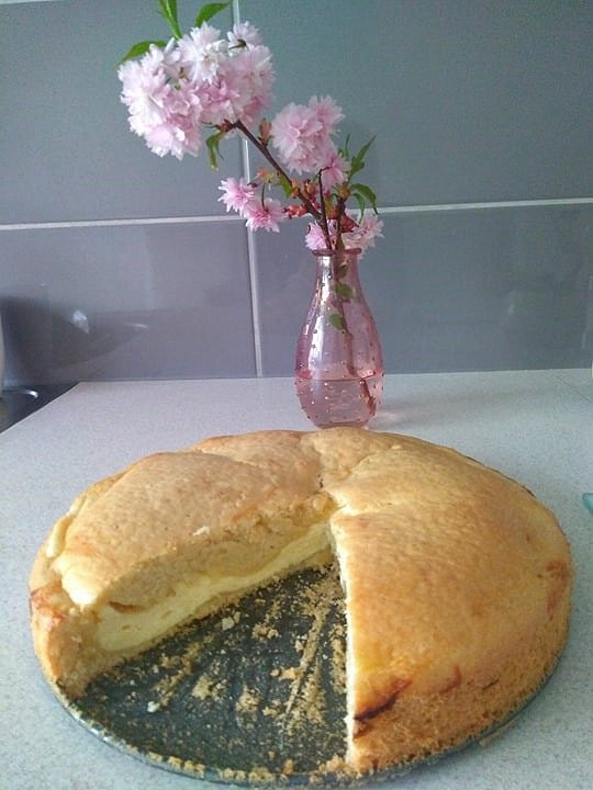 Vyzkoušejte tvarohový koláč.