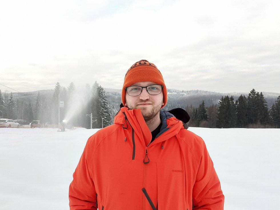 Provozní Ski Areálu Troják Radim Majda.