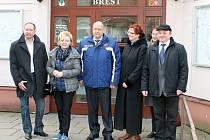 Čtyřčlenná delegace z běloruského Brestu zavítala ve středu 26. února do shodně pojmenované obce na Kroměřížsku.