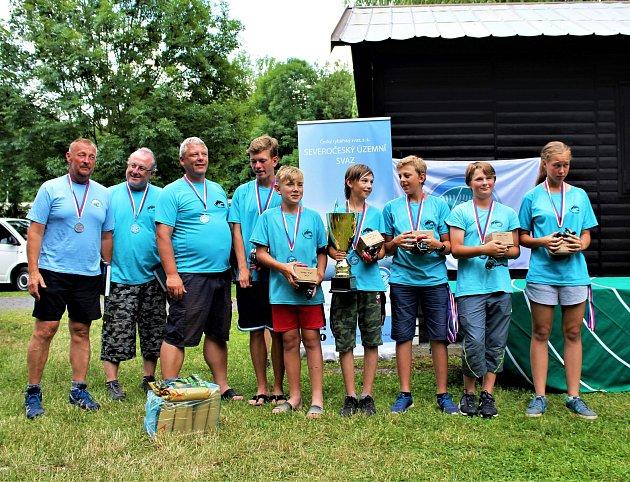 Výrazný úspěch si v polovině června připsali v národním kole soutěže Zlatá udice, mistrovství ČR rybářské mládeže v Bílině mladí rybáři z Kroměříže