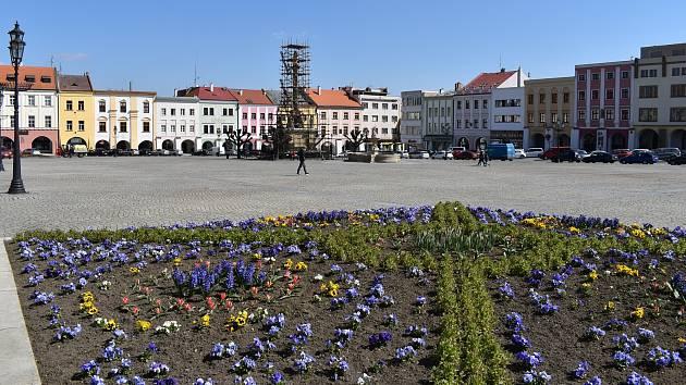 Kroměříž. Velké náměstí