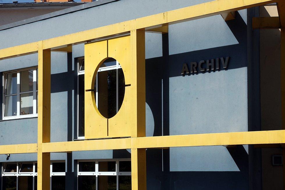 Státní okresní archiv Kroměříž. Budova, kde sídlí archiv od roku 1997.