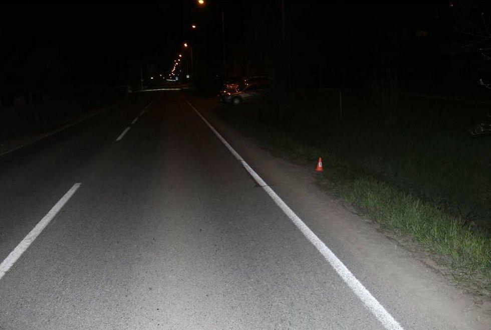 Nehoda ve Slavonínské ulici se zraněním cyklisty