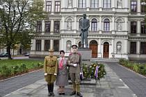 Také lidé z Kroměříže a okolí si v předvečer státního svátku připomněli 99 let od vyhlášení samostatného Československa.