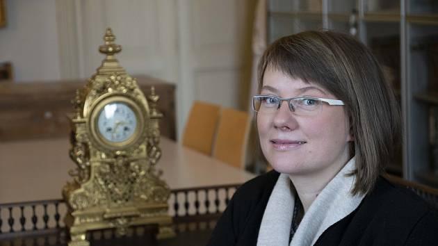 Martina Miláčková, ředitelka Muzea Kroměřížska.